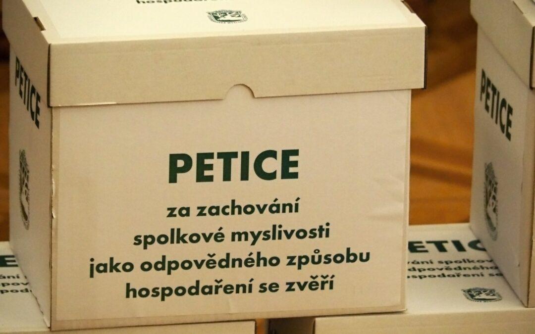 Petice Za zachování spolkové činnosti
